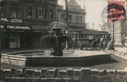The Fountain, Triangle Postcard