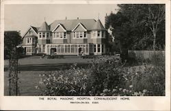 The Royal Masonic Hospital Convalescent Home Postcard