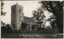 St Mary's Church Postcard