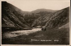 Dovedale in Derbyshire Postcard