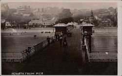 Penarth from Pier Postcard