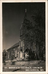 St. Boniface Catholic Church Postcard