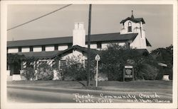 Puente Community Church Postcard