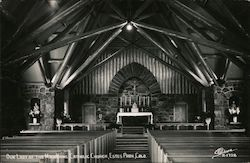 Our Lade of the Mountains Catholic Church Postcard