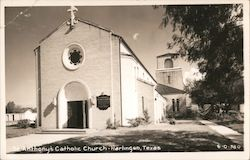 St. Anthony's Catholic Church Postcard