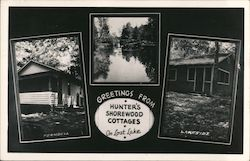 Greetings from Hunter's Shorewood Cottages on Lost Lake