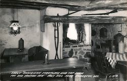 Early American Fireplace and Tap Room, Fox and Hounds Inn, Holy Hill