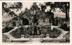 Grotto of Our Lady of Lourdes St. Francis Monastery Postcard