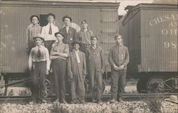 Employees of the Chesapeake and Ohio Railroad Postcard