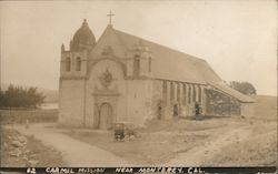 Carmel Mission Postcard