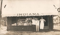George Skirvin, Mort McConnell, William Buckley - Indiana Restaurant?