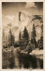 Half Dome - Merced River - Yosemite