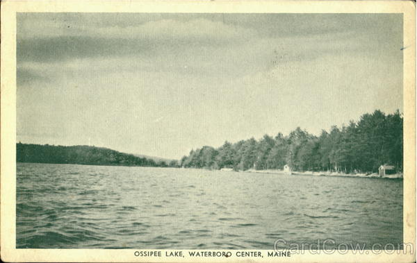 Ossipee Lake Waterboro Center Maine