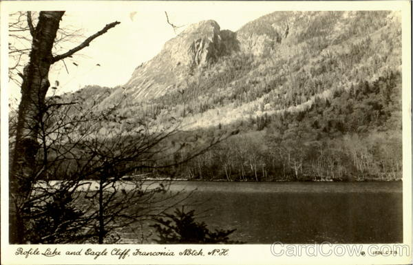 Profile Lake And Eagle Cliff Franconia Notch New Hampshire