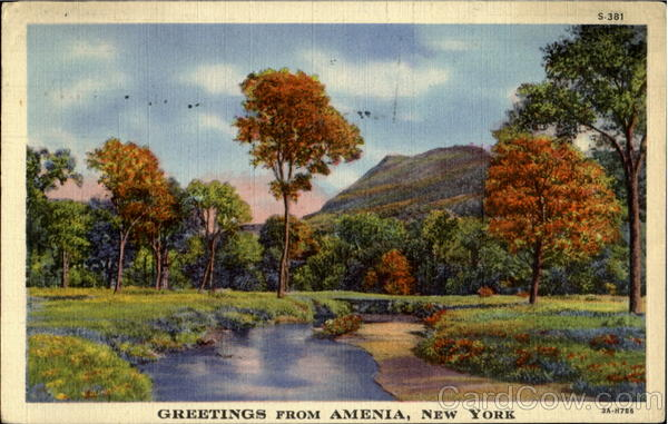 Greetings From Amenia New York
