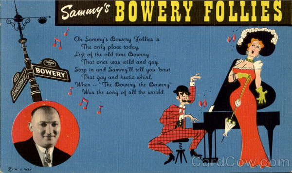 Sammy's Bowery Follies New York City
