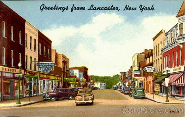 Greetings From Lancaster New York