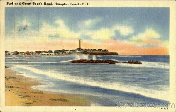 Surf And Great Boar's Head Hampton Beach New Hampshire