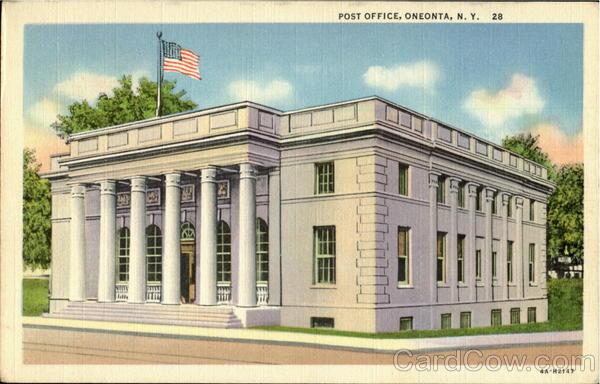 Post Office Oneonta New York