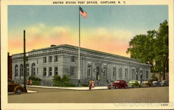 Cortland (NY) United States  city photo : United States Post Office Cortland New York