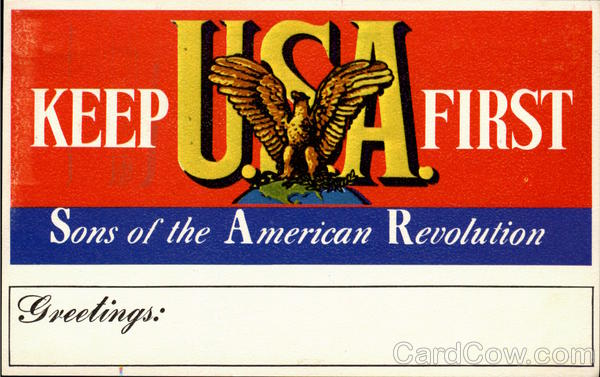 Keep U.S.A. First Patriotic