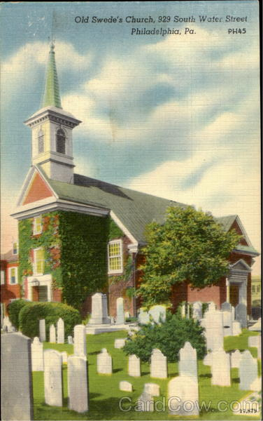 Old Swede's Church, 929 South Water Street Philadelphia Pennsylvania