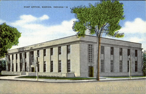 Post Office Marion Indiana