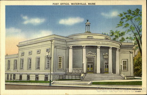 Post Office Waterville Maine