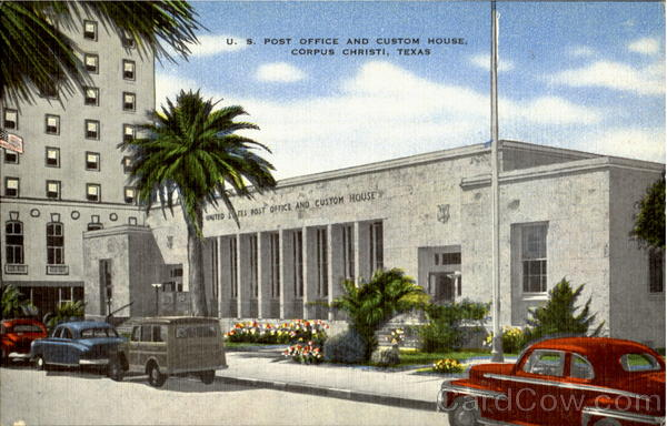 U. S. Post Office And Custom House Corpus Christi Texas
