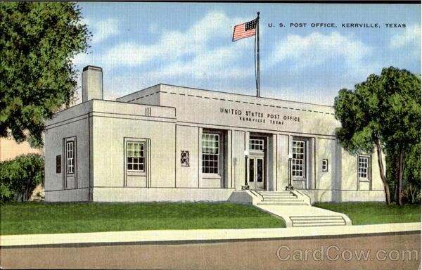 U. S. Post Office Kerrville Texas