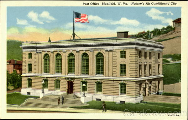 Post Office Bluefield West Virginia