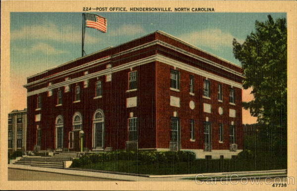 Post Office Hendersonville North Carolina