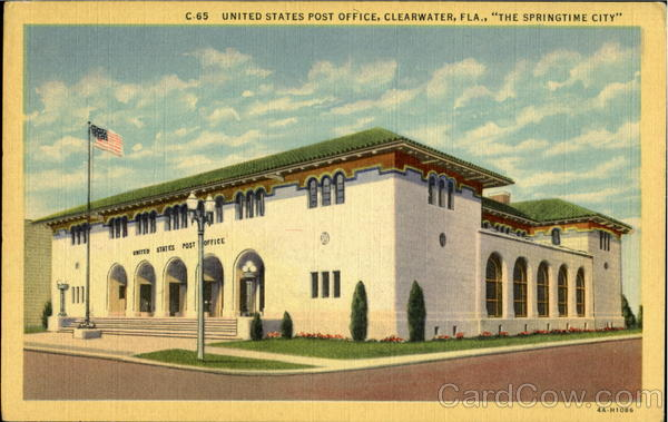 United States Post Office Clearwater Florida