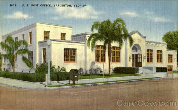 U. S. Post Office Bradenton Florida