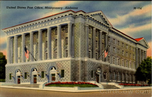United States Post Office Montgomery Alabama