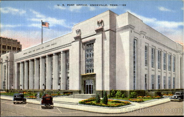 U. S. Post Office Knoxville Tennessee
