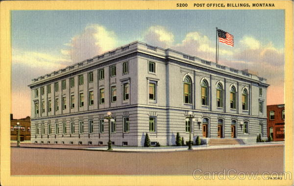 Post Office Billings Montana