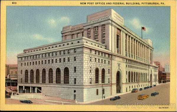 New Post Office And Federal Building Pittsburgh Pennsylvania