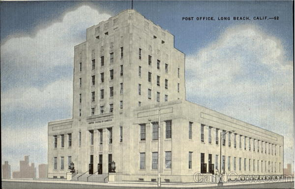 Post Office, 3rd And American Ave Long Beach California