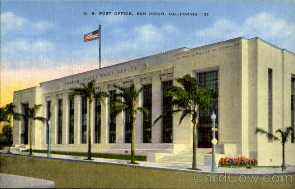 U. S. Post Office San Diego California