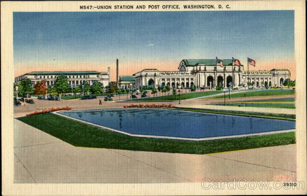 Union Station And Post Office Washington District of Columbia