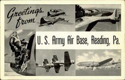 Greetings From U. S. Army Air Base