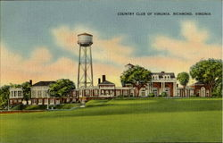 Country Club Of Virginia Postcard