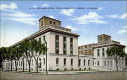 U. S. Customs House Postcard