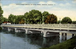 Fifth Street Bridge On Sand Creek
