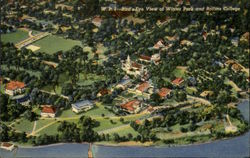 Bird's Eye View Of Winter Park And Rollins College