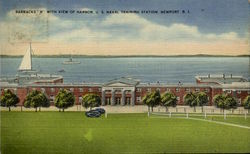 Barracks B With View Of Harbor