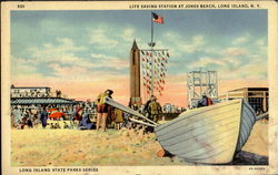 Life Saving Station At Jones Beach