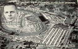 Aerial View Illinois State Fair Grounds