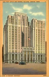 New Post Office And Federal Building Postcard